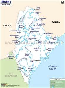 map usa maine rivers in maine quot maine ly quot the facts and other neat maine stuff