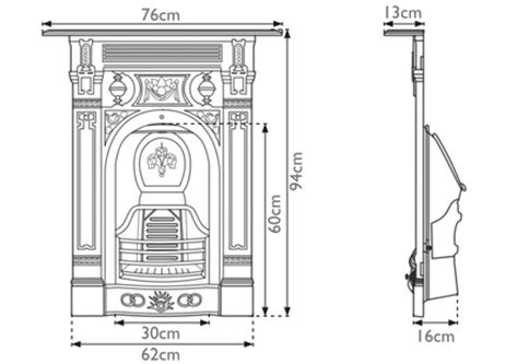 Cast Iron Fireplace Parts by The Small Stonewoods