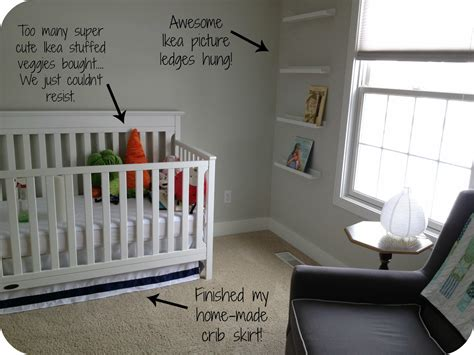 ikea baby all the pretty things nursery update