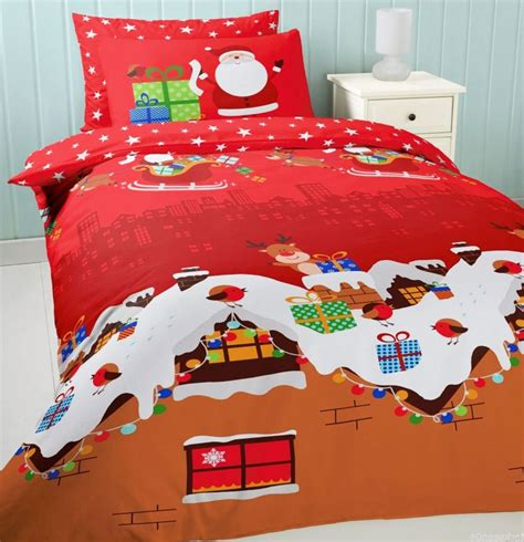 kids christmas bedding christmas bedding sets warm your family properly atzine com