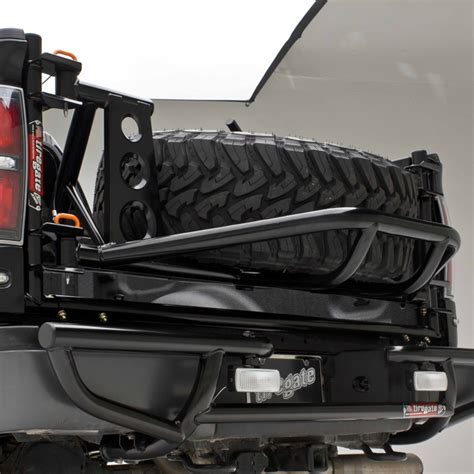 Truck Bed Spare Tire Carrier by Tiregate Racerunner Series