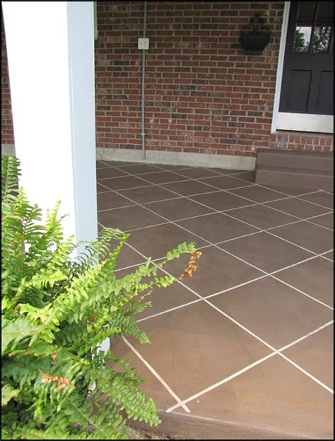 Diy Stained Concrete Patio by Diy Concrete Patio Cover Ups The Garden Glove