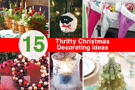 15 thrifty last minute christmas decorating ideas