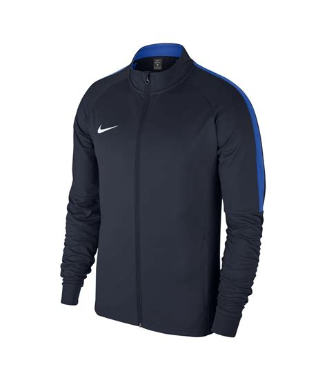 knit jacket nike academy 18 knit jacket obsidian royal blue