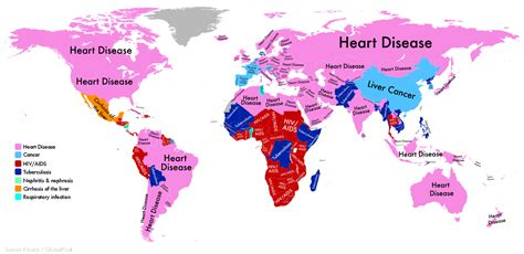 the world is awake a celebration of everyday blessings books this map shows the most deadly disease in every nation