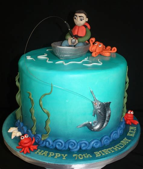 Marlin Fishing Cake Cakecentral M