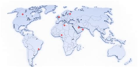 maps globe specialist distributor find your local de flow office