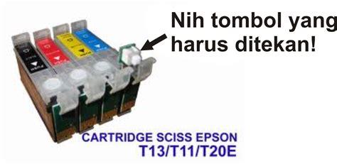 Printer Epson T13x Tinta Banyak keluar dari kemelut cara mengatasi quot ink cartridge cannot be recognize quot pada printer epson t13x