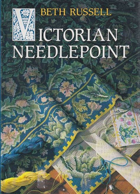 Victorian Needlepoint By Beth Russell Vintage Hardcover
