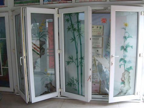 Pvc Folding Patio Doors China Pvc Fold Patio Bi Fold Door China Pvc Door Upvc Door