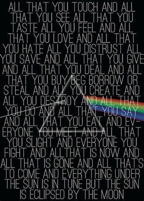 tumblr themes with quotes on side pink floyd lyrics on tumblr