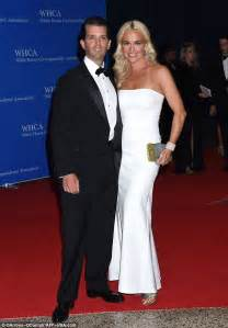 donald trump jr wife eric trump says donald trump will deliver his own white