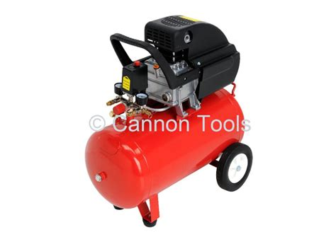 2 5 hp 50 litre air compressor automotive tools diesel generators hardware from cannon uk