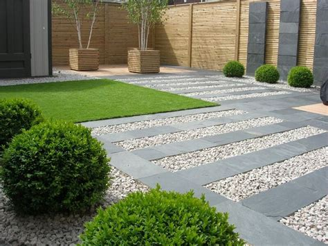 contemporary landscaping the 25 best contemporary garden ideas on pinterest