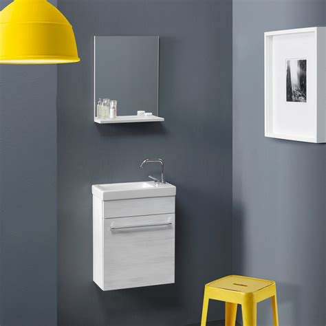 mobili salvaspazio per bagno mobile bagno salvaspazio economico smart in rovere bianco