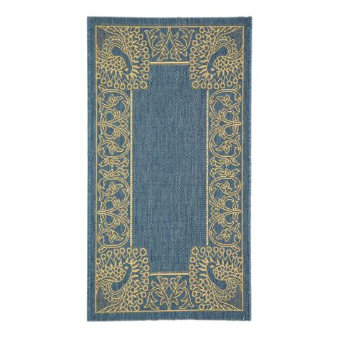 Lowes Outdoor Area Rugs Safavieh Cy2965 3103 Courtyard Indoor Outdoor Area Rug Blue Lowe S Canada