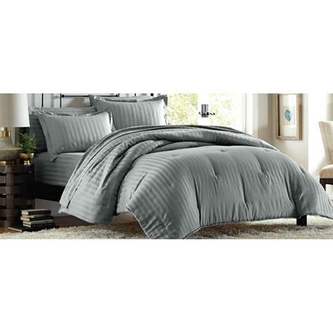 whats a good thread count for a comforter cannon 300 thread count damask stripe comforter set grey