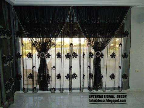 black design curtains curtains catalog designs styles colors for living room