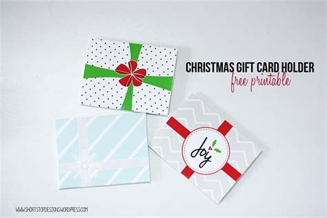 Free Printable Christmas Gift Card Holders - december 2015 christmas printable calendar template 2016