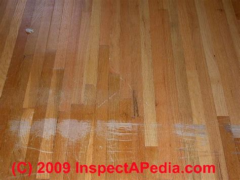 Wood Floor Scratch Repair Floor Damage Defects Diagnosis Guide