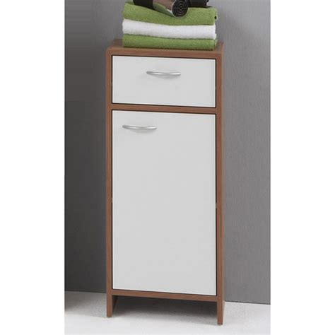 Floor Storage Cabinets With Doors Home Furniture Design Madrid2 Bathroom Floor Cabinet In Plumtree And White With 1