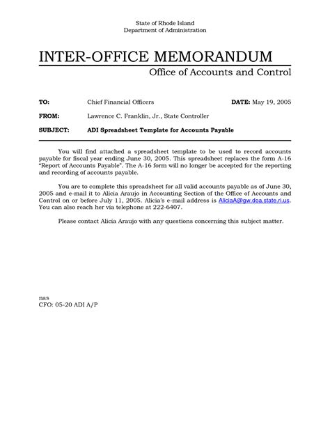 Memorandum Template Office 10 Best Images Of Sle Office Memo Office Memorandum
