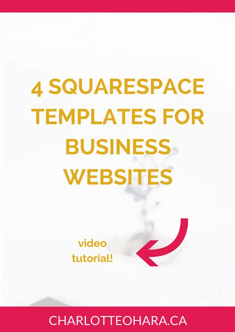best squarespace templates 4 squarespace templates i recommend for business websites