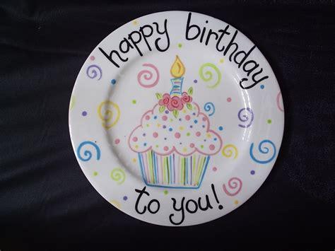 8 personalized birthday plate cupcake bouquet by studiojart