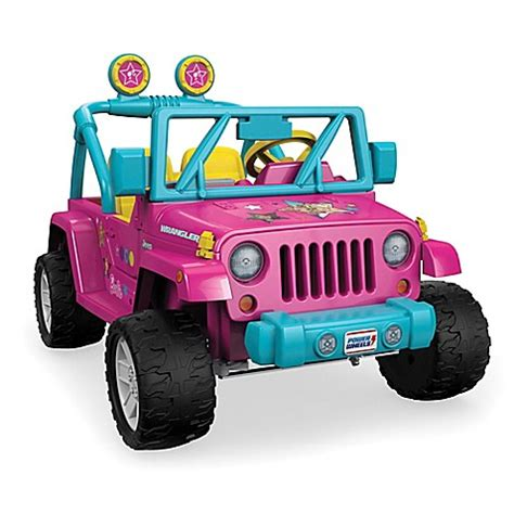 Fisher Price 174 Power Wheels 174 Barbie Jeep 174 Wrangler Bed