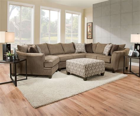 Albany Upholstery albany truffle sofa and loveseat by simmons