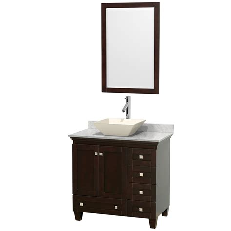 wyndham bathroom vanities wyndham collection wcv800036sescmd2bm24 acclaim 36 inch