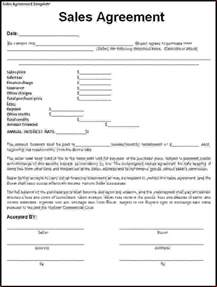 Contract Template by 5 Sales Contract Agreementreport Template Document