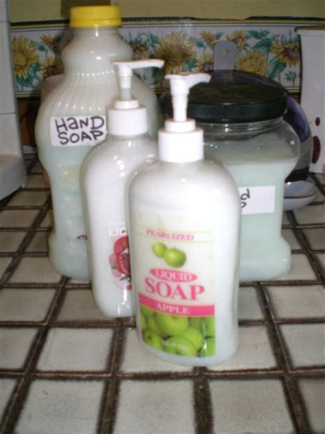 Handmade Liquid Soap Recipes - liquid soap recipes thriftyfun