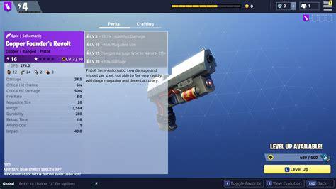 Gun Schematics Fortnite   Fortnite guide to understanding