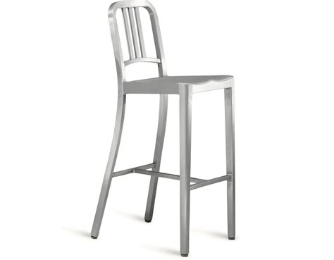 Navy Aluminum Bar Stools by Emeco Navy Stool Hivemodern