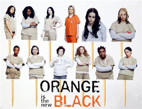 list of orange is the new black characters wikipedia criminal cake toppers orange is the new black characters
