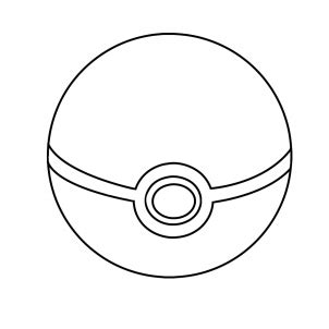 how to draw pokeball hellokids com