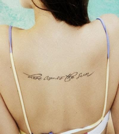 here comes the sun tattoo 77 best quotes with exles piercings