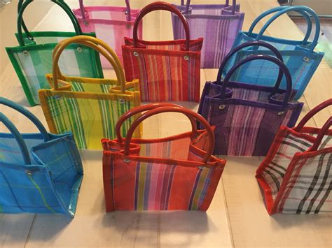 Bright Totes By Zagliani At Matches by 30 Mini Mexican Mercado Tote Bag Favor Gift Bags