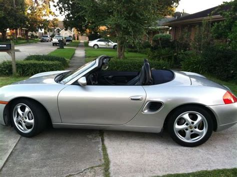 all car manuals free 2000 porsche boxster lane departure warning buy used 2000 porsche boxster 2 7l h6 24v manual rwd convertible premium leather silver in