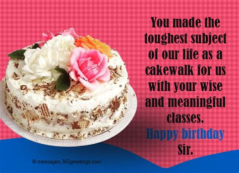 birthday wishes to sir birthday wishes for 365greetings