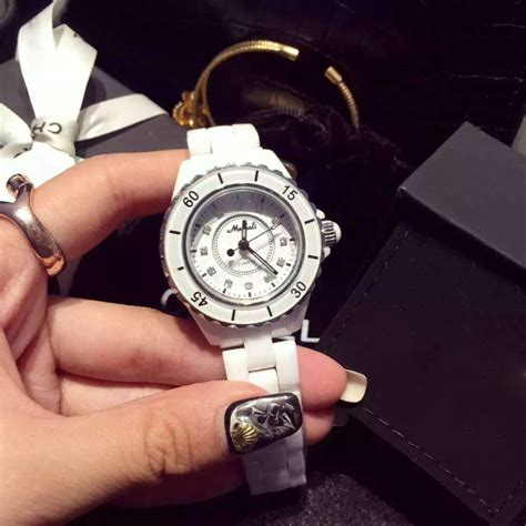 designers watch 2015 top brand luxury white ceramic watch new popular
