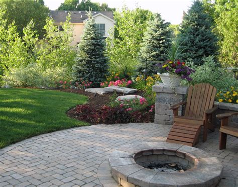 landscaped backyards great scapes outdoor living our portfolio