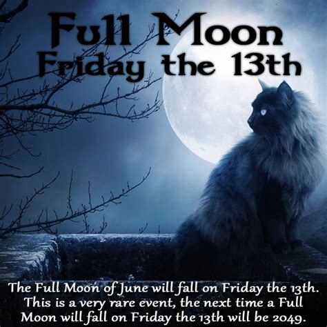 Moon Friday the witches closet moon on friday the thirteenth