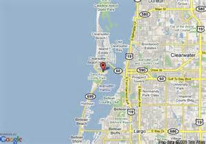 clearwater florida map area map of quality hotel clearwater clearwater