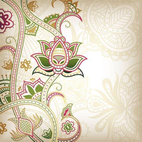floral pattern background free download abstract floral pattern background 04 vector free vector