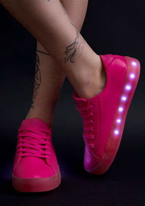 pink light up shoes dolls kill