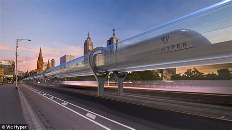Tesla High Speed Rail High Speed Hyperloop Could Get You From Sydney To
