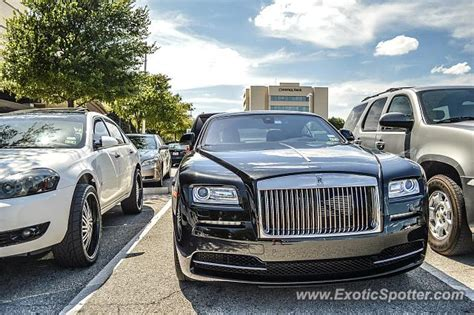 rolls royce wraith spotted in dallas on 08 24 2014