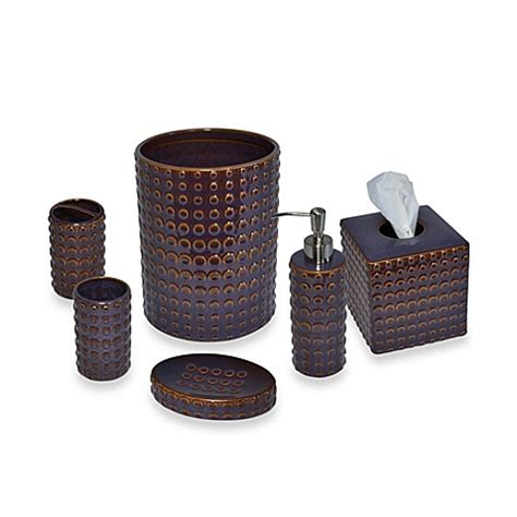 plum bathroom accessories set parker loft dawson ceramic bathroom accessories in plum